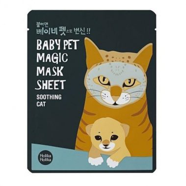 Holika Holika Baby Pet Magic Mask Sheet Cat Miss Eco