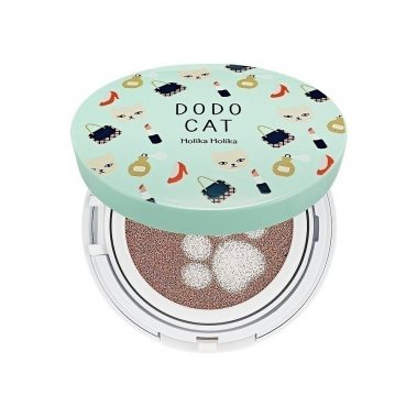 Holika Holika Face 2 Change Dodo Cat Glow Cushion BB 21 Miss Eco