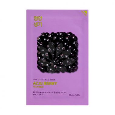 Holika Holika Pure Essence Mask Sheet Acai Berry