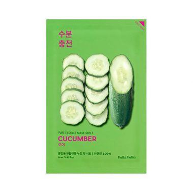 Holika Holika Pure Essence Mask Sheet Cucumber Miss Eco
