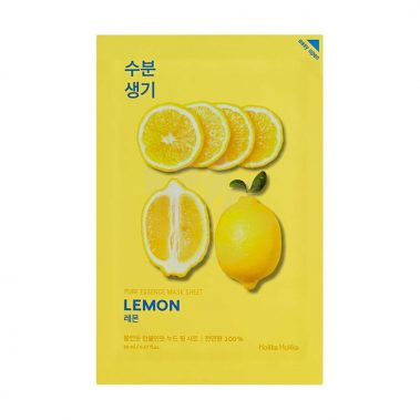 Holika Holika Pure Essence Mask Sheet Lemon Miss Eco