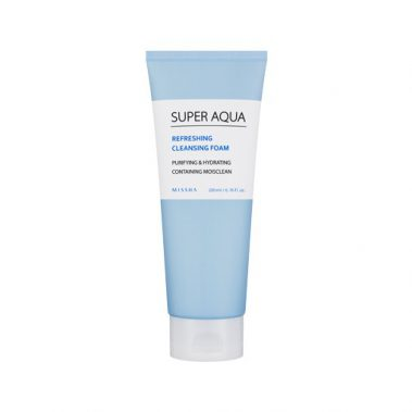 MISSHA Super Aqua Refreshing Cleansing Foam Miss Eco