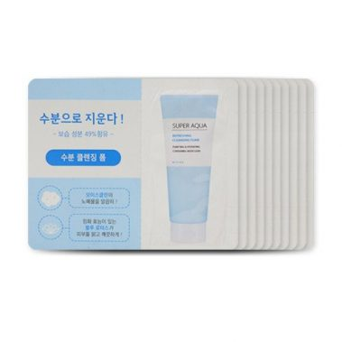 MISSHA Super Aqua Refreshing Cleansing Foam Miss Eco1