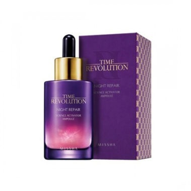 MISSHA Time Revolution Night Repair Borabit Ampoule Miss Eco1