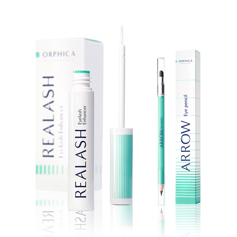 1 x Orphica Realash Eyelash Enhancer 4 ml, Arrow Orphica