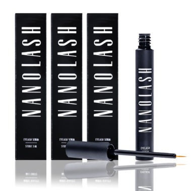 3 x Nanolash Eyelash Serum Miss Eco