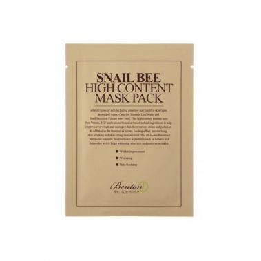 BENTON Snail Bee High Content Mask Pack Miss Eco
