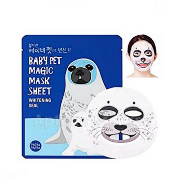 Holika Holika Baby Pet Magic Mask Sheet Whitening Seal Miss Eco CZ