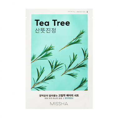 MISSHA Airy Fit Sheet Mask Tea Tree Miss Eco CZ