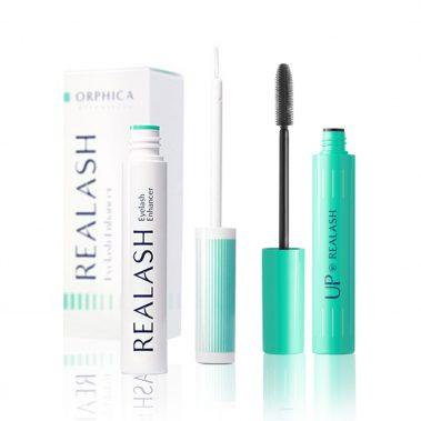 Orphica Realash Eyelash Enhancer 3 ML + Orphica Up Mascara 6 ML