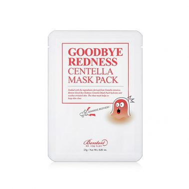 Benton Goodbye Redness Centella Mask Pack Miss Eco