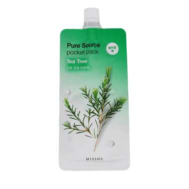 MISSHA Pure Source Pocket Pack (Tea Tree) Miss Eco