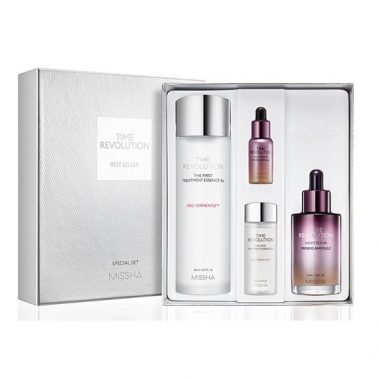 MISSHA Time Revolution Night Repair Bestseller Set Miss Eco