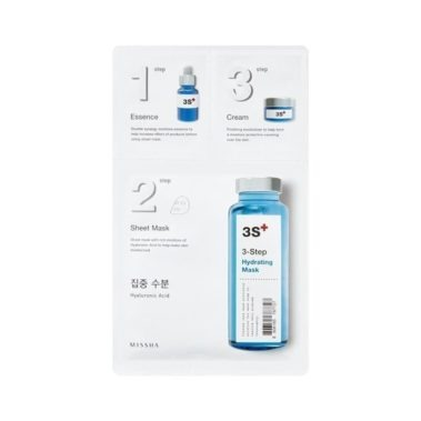 MISSHA 3step Hydrating Mask Miss Eco