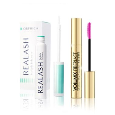 Orphica-Realash-Eyelash-Enhancer-Serum-do-rzęs-4-ml-+-Eveline-Big-Volume-Lash-Mascara-Natural-Bio-Formula-Tusz-do-Rzęs-10-ml-Miss-Eco